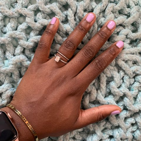 this week's at-home mani 💁🏾‍♀️ with OPI!