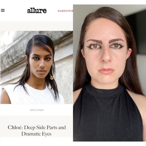 2021 Fashion Week Inspired Makeup - Chloé