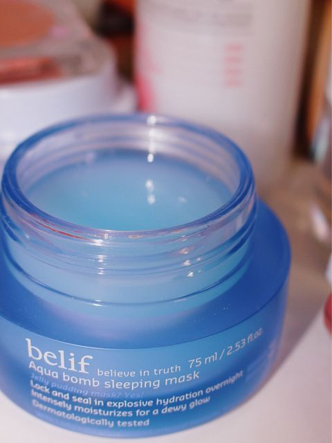 my fave belif product