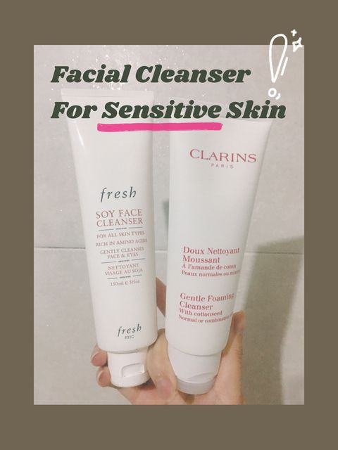 You CAN'T pay me to switch these 2 facial cleanser😘😘😘
