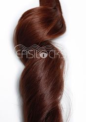 Easi-Itips Professional Hair Extensions Warm Brown