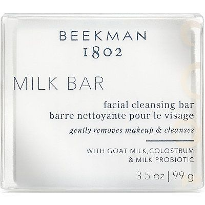 Milk Bar Probiotic Facial Cleansing Bar, BEEKMAN 1802, cherie