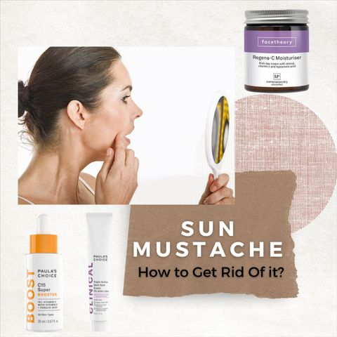 What is a Sun Mustache? Do You Have One?  How to Get Rid of Them?