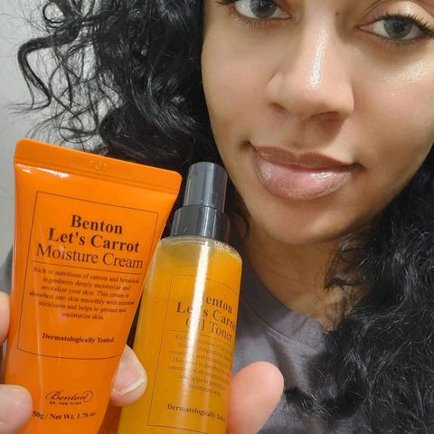 Let's Carrot: Benton Cream & Toner