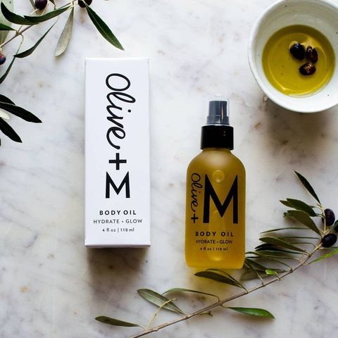 This lovely body oil by olivea