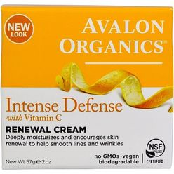 Intense Defense, With Vitamin C, Renewal Cream