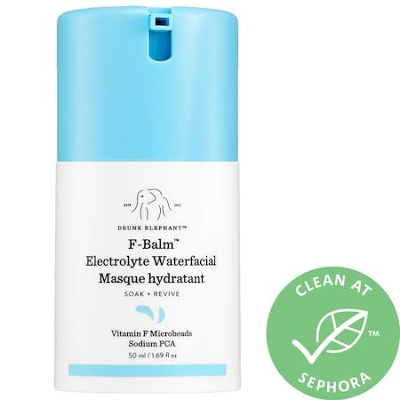 F-Balm Electrolyte Waterfacial Mask, DRUNK ELEPHANT, cherie