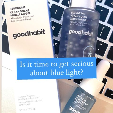 Is blue light-blocking skincare a fad?