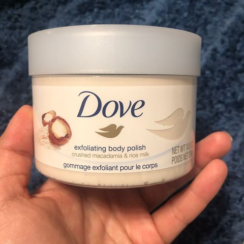 Drugstore products that work - Dove Body Polish