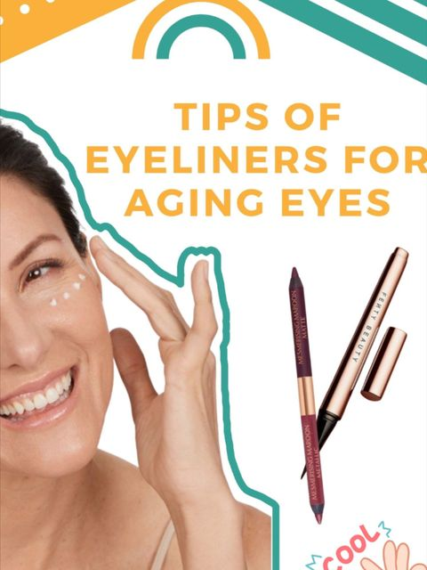 How to choose an eyeliner for aging eyes?