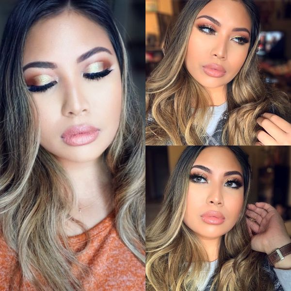Wearable Neutral Makeup for the Holidays 🎄❄️❤️ | Cherie