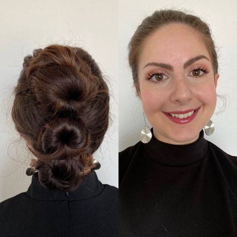 Easy Party Hairstyle Pictorial
