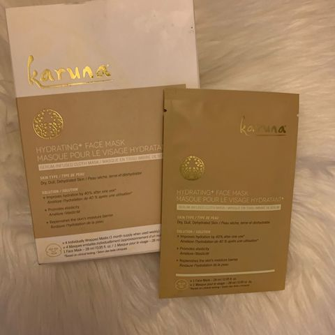 Karuna Cooling Sheet masks