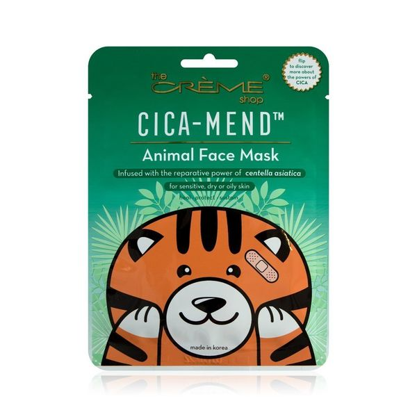 Cica-Mend Animated Tiger Face Mask, the CRÈME shop, cherie