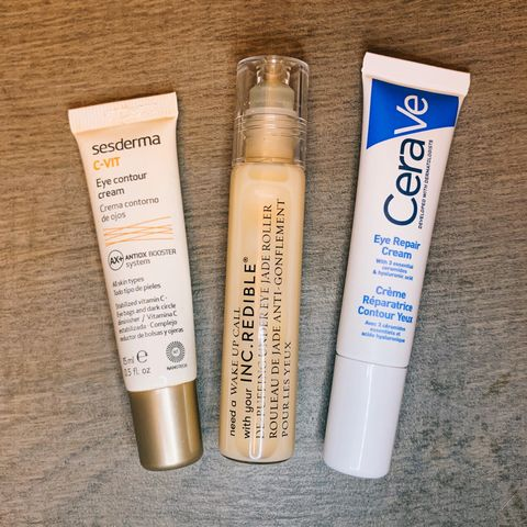 My skincare awards: eye creams