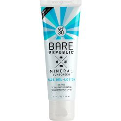 Mineral Face Sunscreen Gel Lotion SPF 30