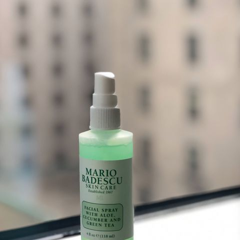 The only facial spray I use🥒🌿