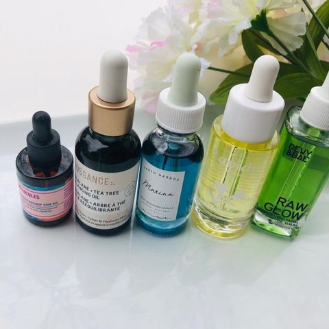 Oil serums from good to excellent