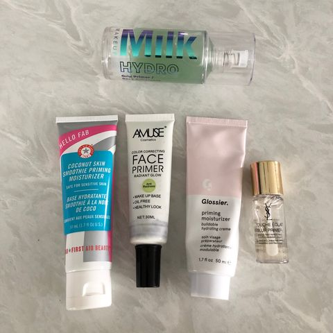 Most loved primers ✨
