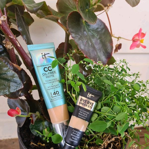 Oil free CC and anti-aging concealer review | Cherie