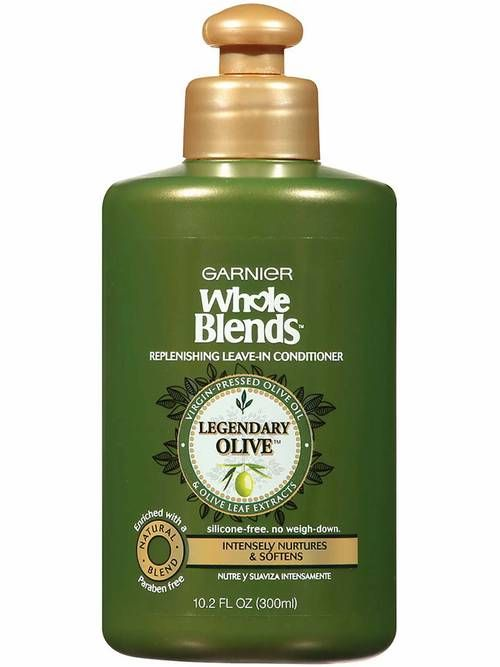 Whole Blends Replenishing Leave-in Conditioner with Virgin-Pressed Olive Oil & Olive Leaf Extracts