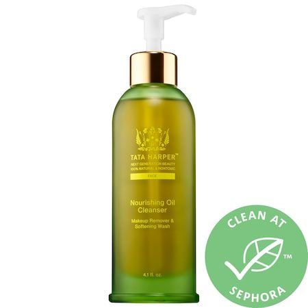 Nourishing Makeup Removing Oil Cleanser, TATA HARPER, cherie