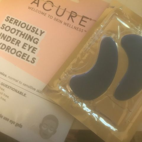 Acure - Seriously Soothing Under Eye Hydro Gels