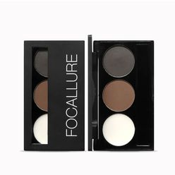 FOCCALURE 3 Colors Eyebrow Powder