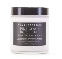 Pink Clay + Rose Petal soothing mask