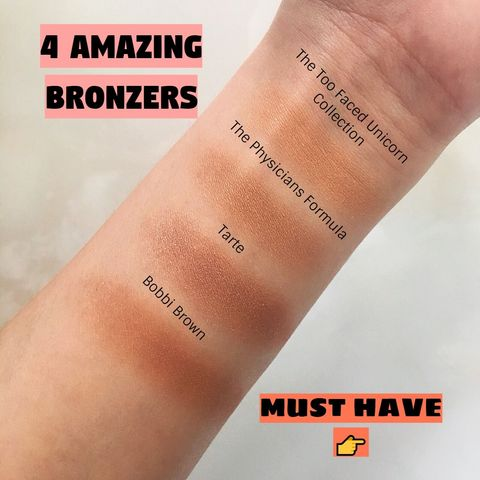 Bronzers Competition! Guess Which One Wins!