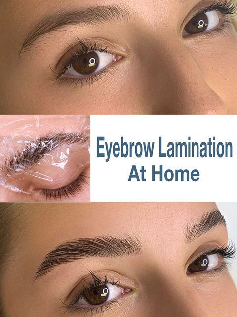 DIY brow lamination! $30 for $120 salon-worthy results