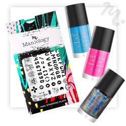Level Up Bundle: 1 Plate and 3 Polishes