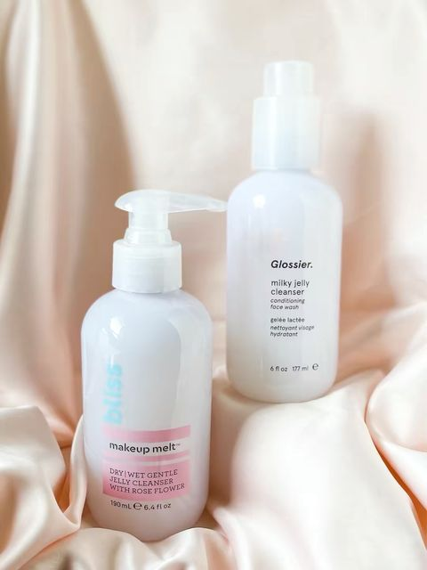 Dupe for Glossier jelly cleanser