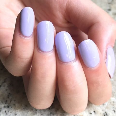 Love this delicate shade of purple!