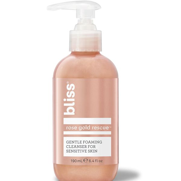 Rose Gold Rescue Cleanser, bliss, cherie