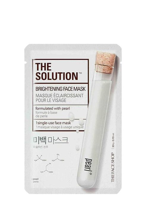 The Solution Brightening Face Mask