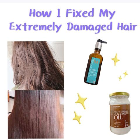 How to Repair My Dry Damaged Hair at Home