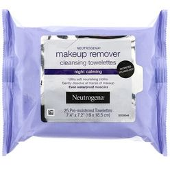 Makeup Remover Cleansing Towelettes, Night Calming
