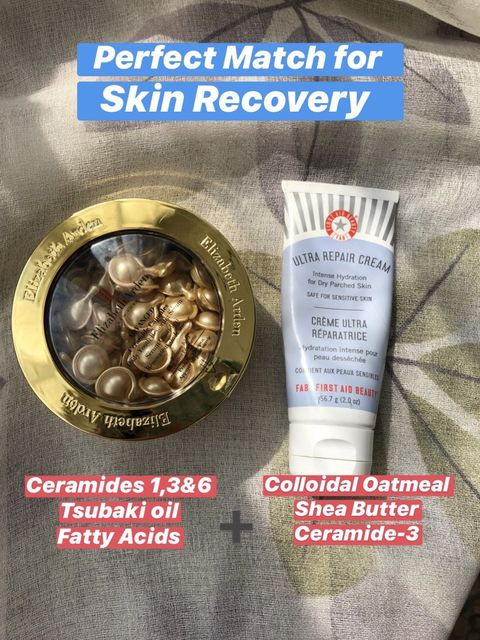 Perfect Match for Skin Recovery