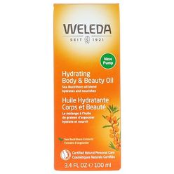 Hydrating Body & Beauty Oil, Sea Buckthorn Extracts, 3.4 fl oz (100 ml)