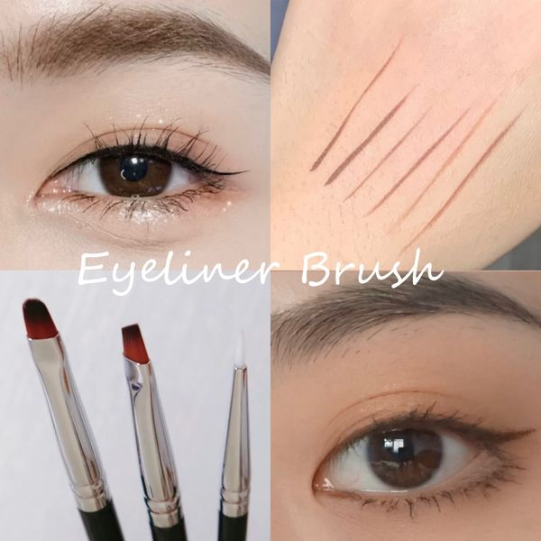 Eyeliner 101 - Liquid eyeliner & brushes | Cherie