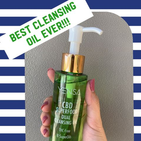 Amazing 𝐂𝐁𝐃 Cleansing Oil!!