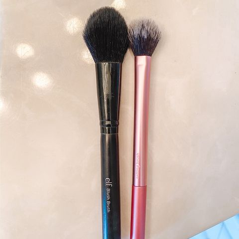 Favorite brushes for setting powder!