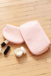 The Cosmetic Pouch Set in Rose