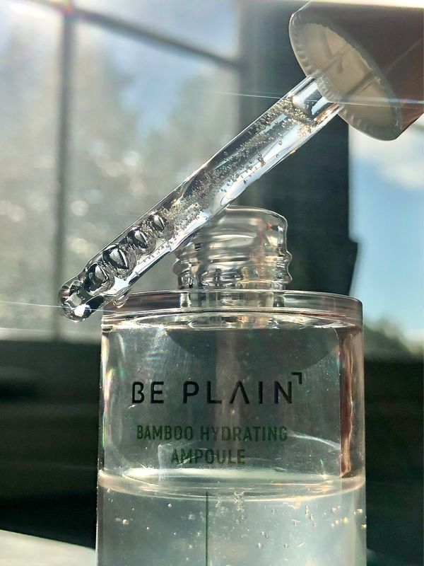 Be Plain Bamboo Hydrating Ampoule 💛 ✨Some key ingredients are of course the 80% bamboo...   Cherie