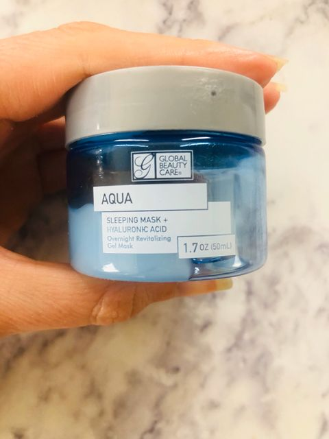 Aqua Sleeping Mask 🧜🏼‍♀️