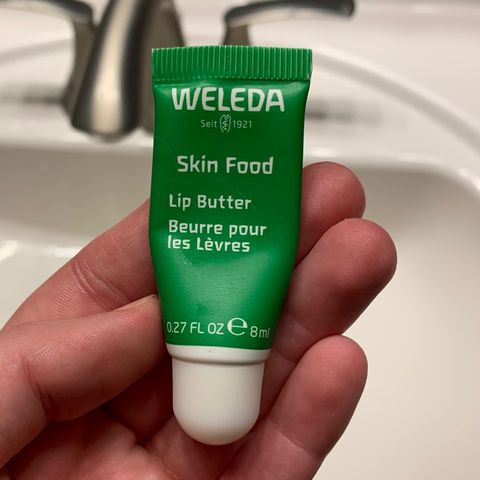 My go-to lip balm / treatment post-routine!
