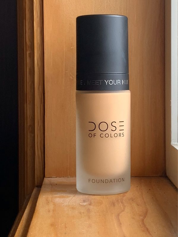 💫dose of colors meet your hue foundation review | Cherie