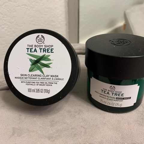 The Body Shop | Tea Tree Masks