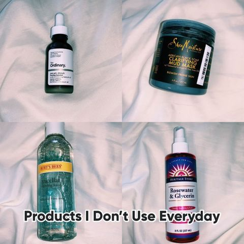 Products I Don't Use Everyday